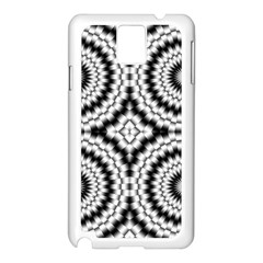 Pattern Tile Seamless Design Samsung Galaxy Note 3 N9005 Case (white)