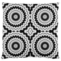 Pattern Tile Seamless Design Large Flano Cushion Case (two Sides)