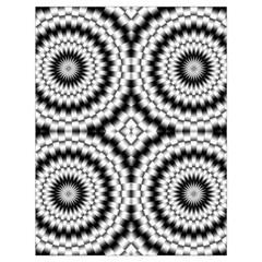 Pattern Tile Seamless Design Drawstring Bag (Large)