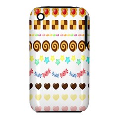 Sunflower Plaid Candy Star Cocolate Love Heart Iphone 3s/3gs