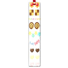 Sunflower Plaid Candy Star Cocolate Love Heart Large Book Marks
