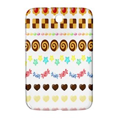 Sunflower Plaid Candy Star Cocolate Love Heart Samsung Galaxy Note 8.0 N5100 Hardshell Case