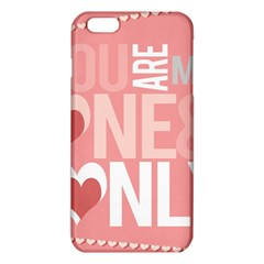 Valentines Day One Only Pink Heart Iphone 6 Plus/6s Plus Tpu Case