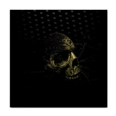 Skull Fantasy Dark Surreal Tile Coasters