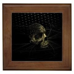 Skull Fantasy Dark Surreal Framed Tiles