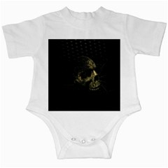 Skull Fantasy Dark Surreal Infant Creepers