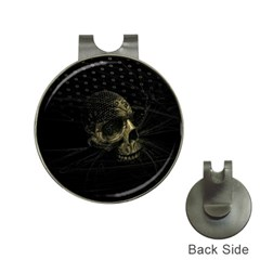 Skull Fantasy Dark Surreal Hat Clips With Golf Markers