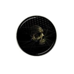 Skull Fantasy Dark Surreal Hat Clip Ball Marker (10 Pack)