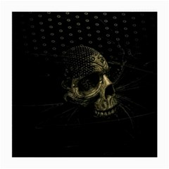 Skull Fantasy Dark Surreal Medium Glasses Cloth