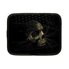 Skull Fantasy Dark Surreal Netbook Case (small)