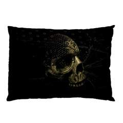 Skull Fantasy Dark Surreal Pillow Case
