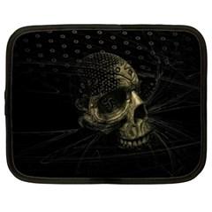 Skull Fantasy Dark Surreal Netbook Case (xxl)