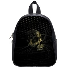 Skull Fantasy Dark Surreal School Bags (small)