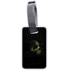 Skull Fantasy Dark Surreal Luggage Tags (One Side)