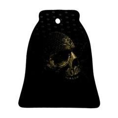 Skull Fantasy Dark Surreal Ornament (bell)