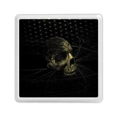 Skull Fantasy Dark Surreal Memory Card Reader (square)