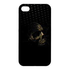 Skull Fantasy Dark Surreal Apple Iphone 4/4s Premium Hardshell Case