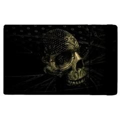 Skull Fantasy Dark Surreal Apple Ipad 2 Flip Case