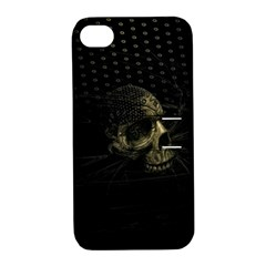 Skull Fantasy Dark Surreal Apple iPhone 4/4S Hardshell Case with Stand