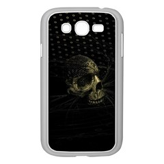 Skull Fantasy Dark Surreal Samsung Galaxy Grand Duos I9082 Case (white)