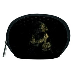Skull Fantasy Dark Surreal Accessory Pouches (medium)