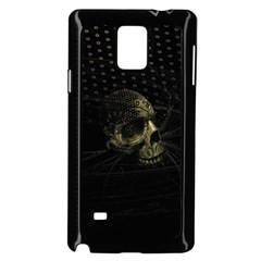 Skull Fantasy Dark Surreal Samsung Galaxy Note 4 Case (black)