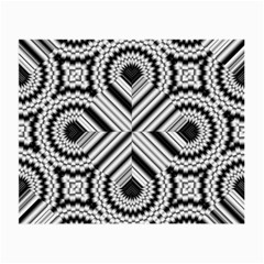Pattern Tile Seamless Design Small Glasses Cloth