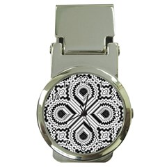 Pattern Tile Seamless Design Money Clip Watches