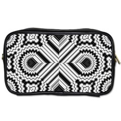 Pattern Tile Seamless Design Toiletries Bags 2 Side