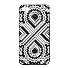 Pattern Tile Seamless Design Apple Iphone 4/4s Seamless Case (black)