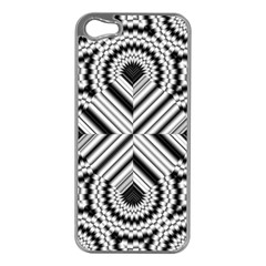 Pattern Tile Seamless Design Apple Iphone 5 Case (silver)