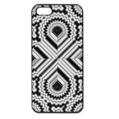 Pattern Tile Seamless Design Apple Iphone 5 Seamless Case (black)