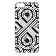 Pattern Tile Seamless Design Apple Iphone 5 Seamless Case (white)