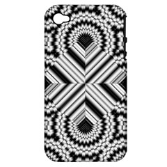 Pattern Tile Seamless Design Apple Iphone 4/4s Hardshell Case (pc+silicone)