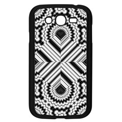 Pattern Tile Seamless Design Samsung Galaxy Grand Duos I9082 Case (black)
