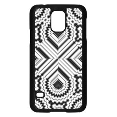 Pattern Tile Seamless Design Samsung Galaxy S5 Case (black)