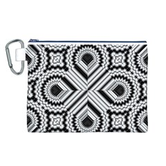 Pattern Tile Seamless Design Canvas Cosmetic Bag (l)