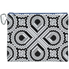 Pattern Tile Seamless Design Canvas Cosmetic Bag (xxxl)