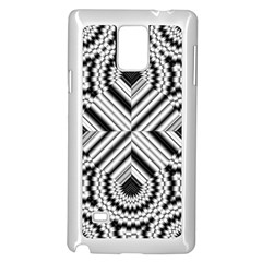Pattern Tile Seamless Design Samsung Galaxy Note 4 Case (white)