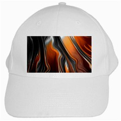 Fractal Structure Mathematic White Cap