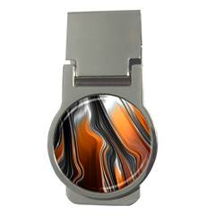 Fractal Structure Mathematic Money Clips (round)