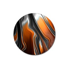 Fractal Structure Mathematic Magnet 3  (round)