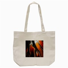 Fractal Structure Mathematic Tote Bag (cream)