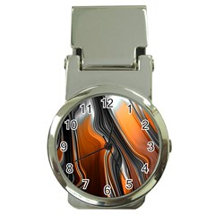 Fractal Structure Mathematic Money Clip Watches