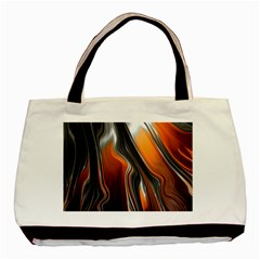 Fractal Structure Mathematic Basic Tote Bag (two Sides)