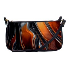 Fractal Structure Mathematic Shoulder Clutch Bags