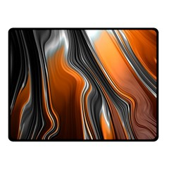Fractal Structure Mathematic Fleece Blanket (small)