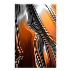 Fractal Structure Mathematic Shower Curtain 48  X 72  (small)