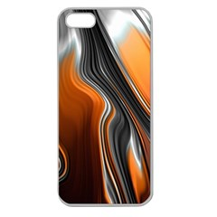 Fractal Structure Mathematic Apple Seamless Iphone 5 Case (clear)