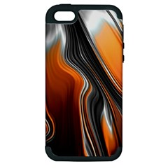 Fractal Structure Mathematic Apple Iphone 5 Hardshell Case (pc+silicone)